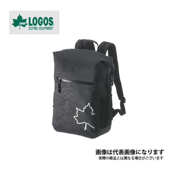 【ロゴス】SPLASH MOBI スモールダッフルリュック25 (ブラックカモ)(88200156)