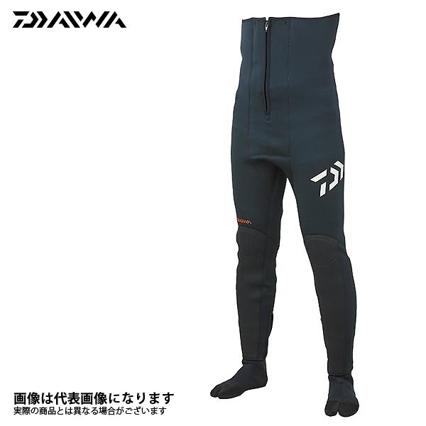 【ダイワ】ドライタイツ(ソックス先割) DD-4000V35 ブラック LAダイワ 鮎タイツ DAIWA ダイワ 釣り フィッシング 釣具 釣り用品