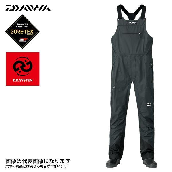 【ダイワ】DR-1408P ゴアテックス チェスハイサロペットパンツ ブラック M 2018新製品レインウェアダイワ レインウェア 雨具 DAIWA ダイワ 釣り フィッシング 釣具 釣り用品