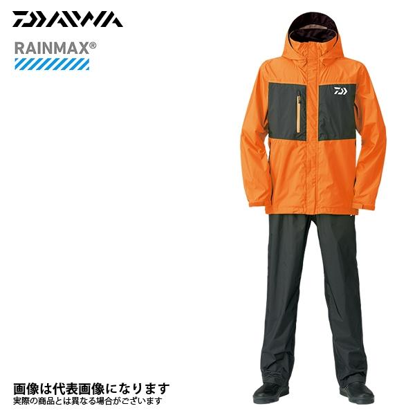 【ダイワ】DR-36008 レインマックスレインスーツ フレッシュオレンジ L 2018新製品レインウェアダイワ レインウェア 雨具
