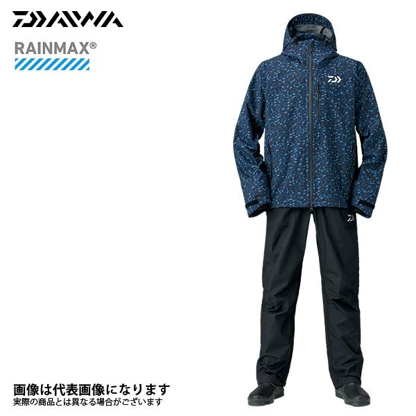 【ダイワ】DR-33008 レインマックスレインスーツ ブルーミラー S 2018新製品レインウェアダイワ レインウェア 雨具