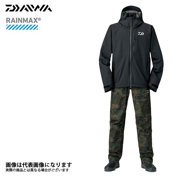 【ダイワ】DR-33008 レインマックスレインスーツ ブラック XL 2018新製品レインウェアダイワ レインウェア 雨具