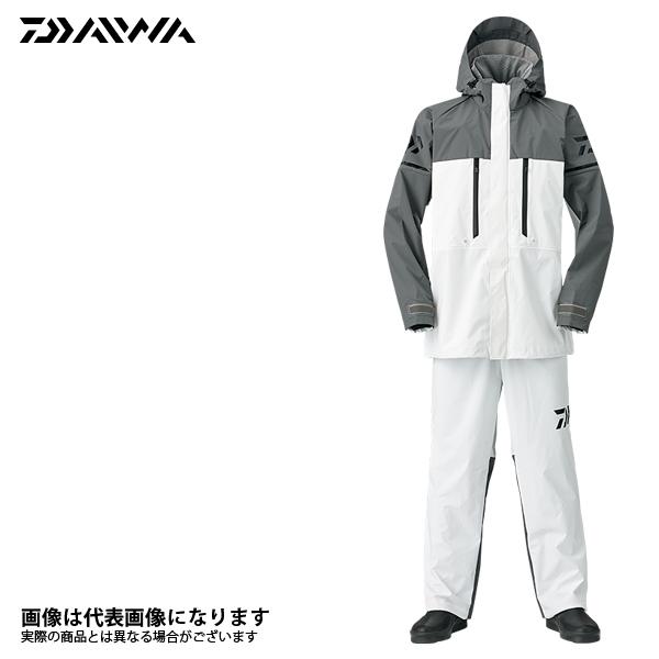 【ダイワ】DR-9008 PVCオーシャンサロペットレインスーツ ホワイト M 2018新製品レインウェアダイワ レインウェア 雨具 DAIWA ダイワ 釣り フィッシング 釣具 釣り用品