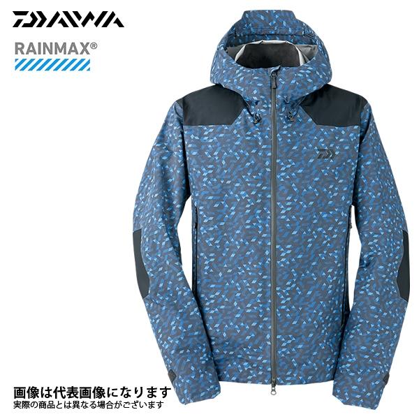 【ダイワ】DR-2008J レインマックスレインジャケット ブルーミラー L 2018新製品レインウェアダイワ レインウェア 雨具 DAIWA ダイワ 釣り フィッシング 釣具 釣り用品