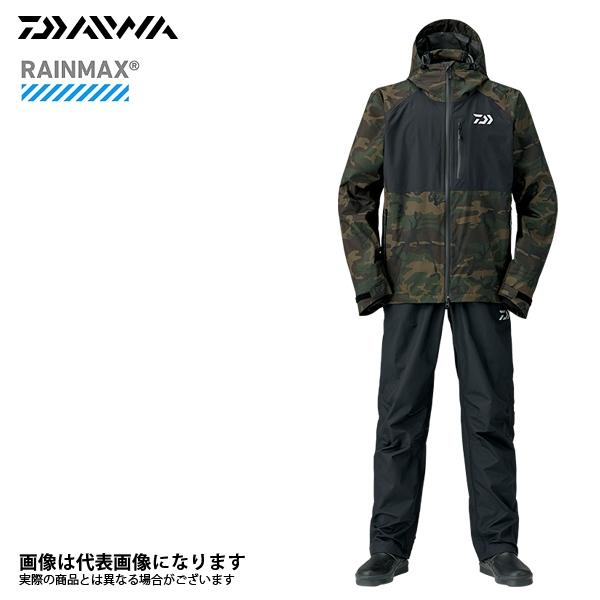 【ダイワ】DR-33008 レインマックスレインスーツ グリーンカモ M 2018新製品レインウェアダイワ レインウェア 雨具