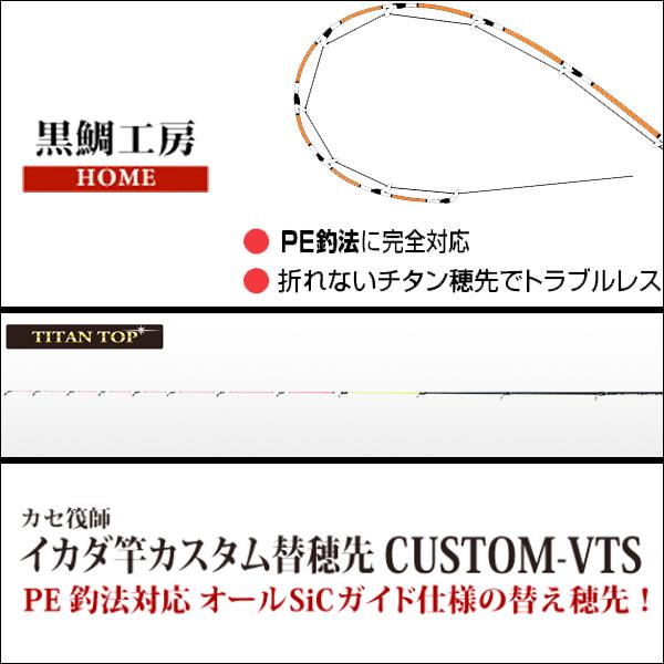 【黒鯛工房】カスタム替え穂先 CUSTOM-VTS ACTION5