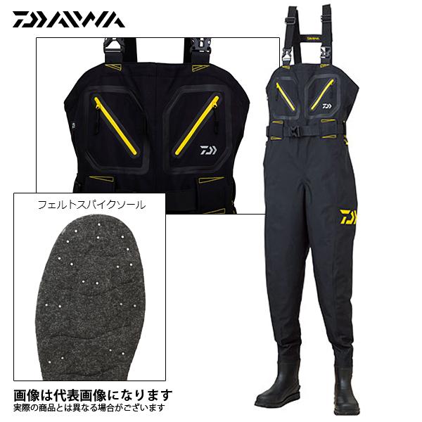【ダイワ】SW-4501R-T ソルトストッキングウェダー ブラック Sダイワ ウェーダー 釣り