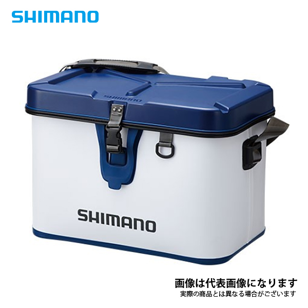【シマノ】タックルボートバッグ (ハードタイプ ) BK-001Q ホワイト 32L SHIMANO シマノ 釣り フィッシング 釣具 釣り用品