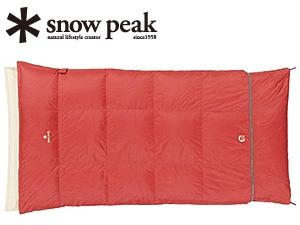 【スノーピーク】セパレートオフトンワイド 1400(BDD-104)寝袋 シュラフ 封筒型シュラフ スノーピーク シュラフ