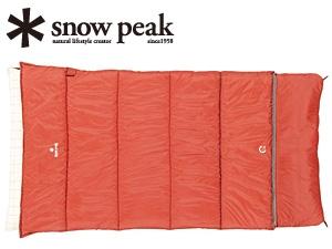 【スノーピーク】セパレートシュラフ オフトン ワイド(BD-103)寝袋 シュラフ 封筒型シュラフ スノーピーク シュラフ