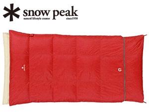 【スノーピーク】セパレートシュラフ オフトン ワイドLX(BD-104)寝袋 シュラフ 封筒型シュラフ スノーピーク シュラフ