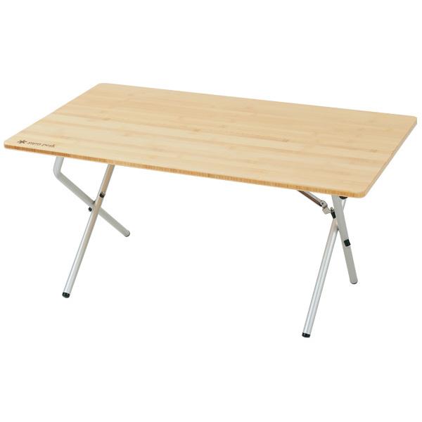 【スノーピーク】ワンアクションローテーブル 竹(LV-100T)アウトドアテーブル キャンプテーブル スノーピーク テーブル
