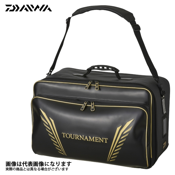 【ダイワ】トーナメント フィッシングバッグ60(C) ブラック