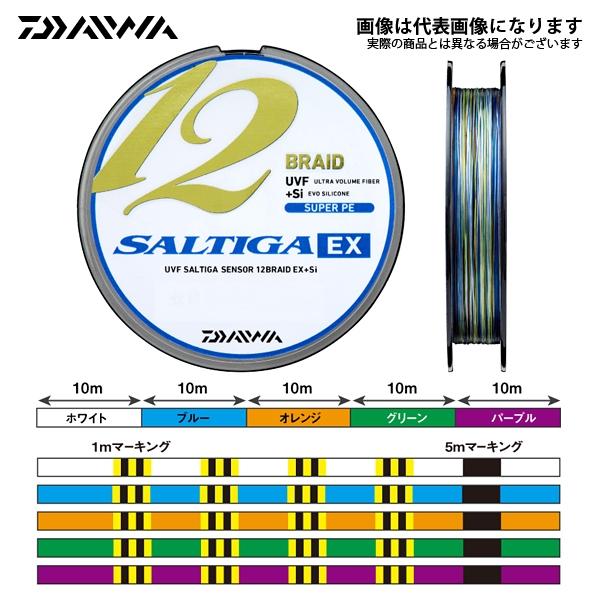 【ダイワ】UVF ソルティガセンサー 12ブレイドEX+Si 6-400