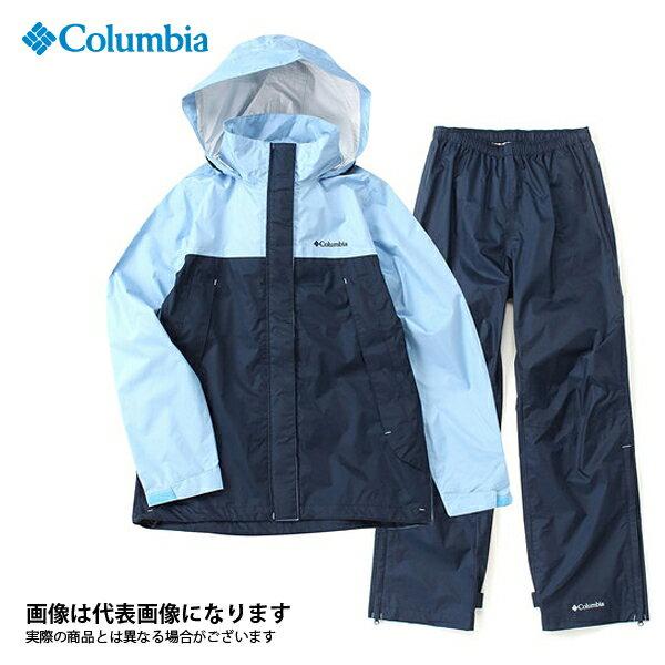 【コロンビア】シンプソンサンクチュアリウィメンズレインスーツ 486 Sail S(PL0125)