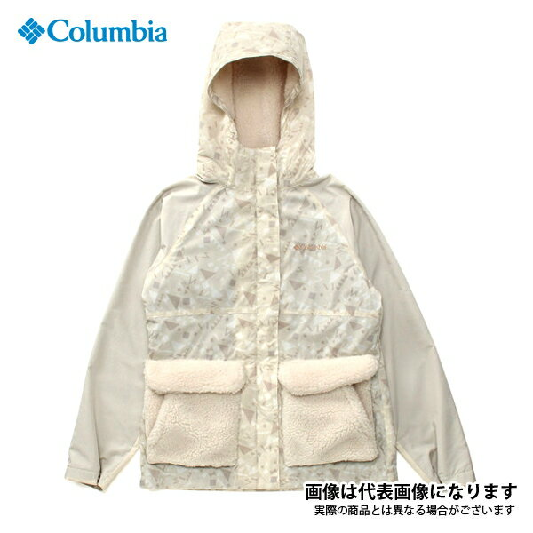 PL3065 ハーフバレイウィメンズパターンドジャケット 022 Stone Pattern L コロンビア アウトドア 防寒着 ジャケット 防寒