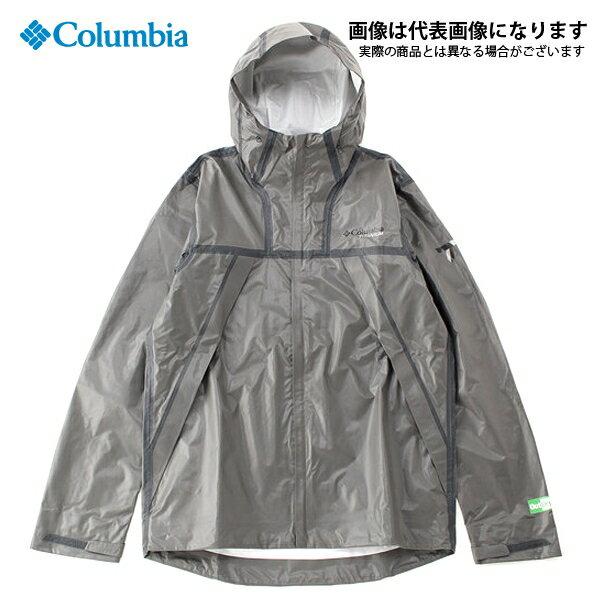 RE1038 アウトドライ EX エコテックシェル 030 Bamboo Charcoal M コロンビア