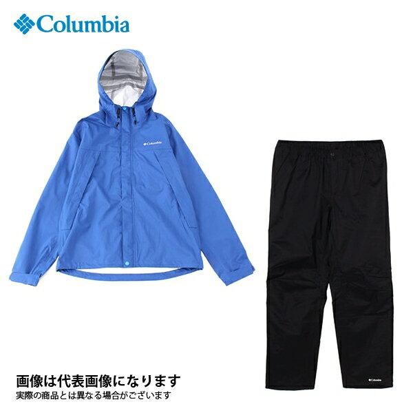 【コロンビア】ピクシーサンクチュアリレインスーツ 437 Azul XL(PM0013)