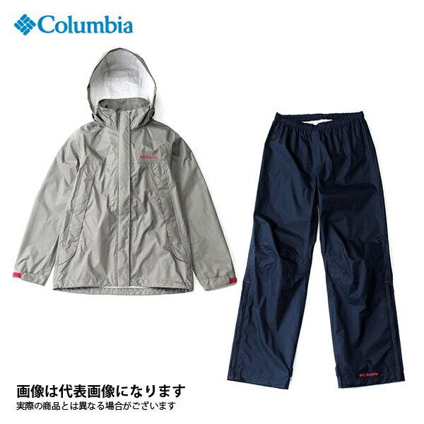 【コロンビア】シンプソンサンクチュアリウィメンズレインスーツ 005 Kettle M(PL0125)