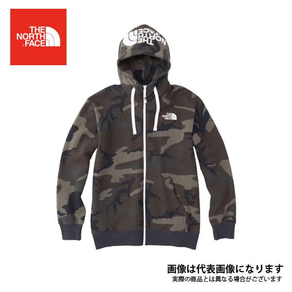 【ノースフェイス】ノベルティリアビューフルジップ フーディ(メンズ) ウッドランカモ XL(NT61844)