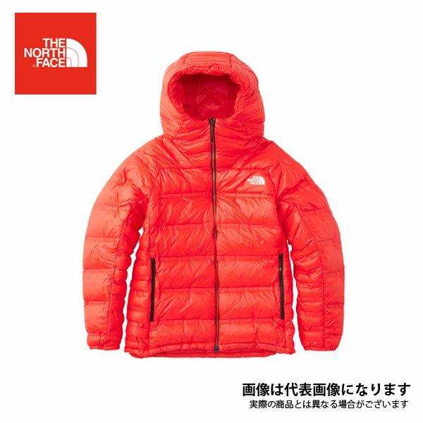 ND91811 トリプルバッフルビレイパーカ メンズ ファイアリーレッド L ノースフェイス アウトドア 防寒着 ジャケット 防寒