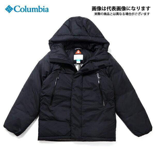 PM5608 ビッグリブマウンテンダウンジャケット 010 Black L コロンビア アウトドア 防寒着 ジャケット 防寒