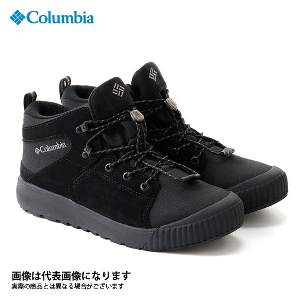 【コロンビア】へイスタック ロック SB ウォータープルーフ オムニヒート 010 Black 27.5cm(YM1008)