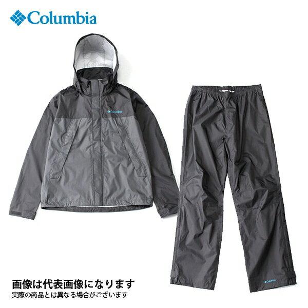 【コロンビア】シンプソンサンクチュアリレインスーツ 028 グリル XL(PM0124)