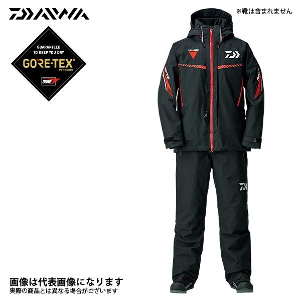 【ダイワ】ゴアテックス プロダクト ファブリクス コンビアップ ウィンタースーツ ブラック XL(DW-1308)
