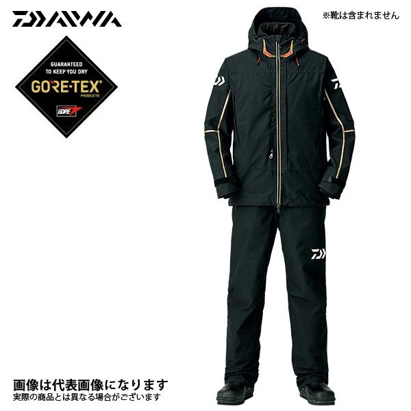 【ダイワ】ゴアテックス プロダクト コンビアップ ウィンタースーツ ブラック M(DW-1808)