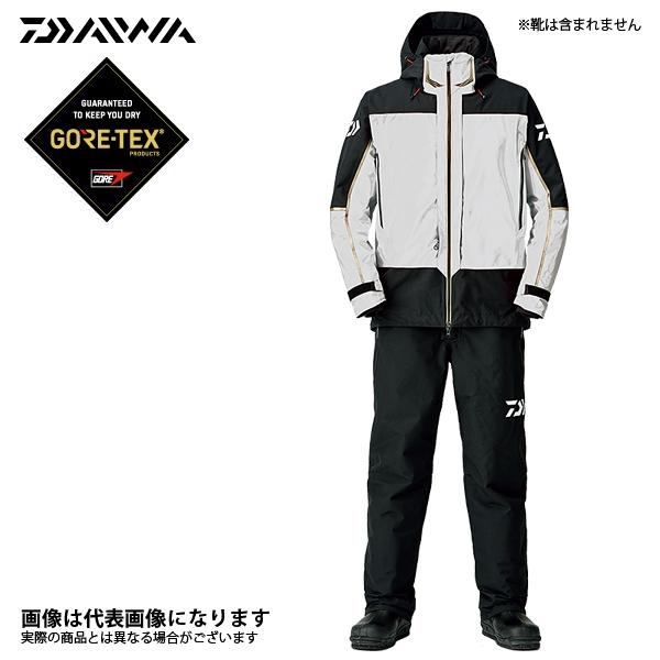 【ダイワ】ゴアテックス プロダクト コンビアップ ウィンタースーツ ライトグレー L(DW-1808)
