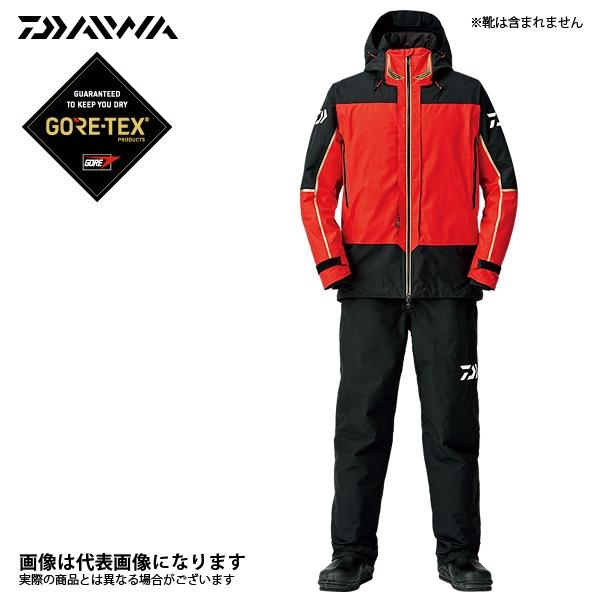 【ダイワ】ゴアテックス プロダクト コンビアップ ウィンタースーツ レッド L(DW-1808)
