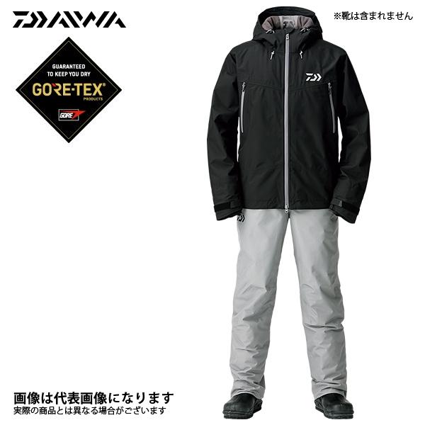 DW-1908 ゴアテックス ファブリクス ウィンタースーツ ブラック XLS ダイワ 釣り 防寒着 上下セット 防寒