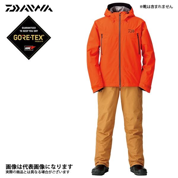 DW-1908 ゴアテックス ファブリクス ウィンタースーツ オレンジ L ダイワ 釣り 防寒着 上下セット 防寒