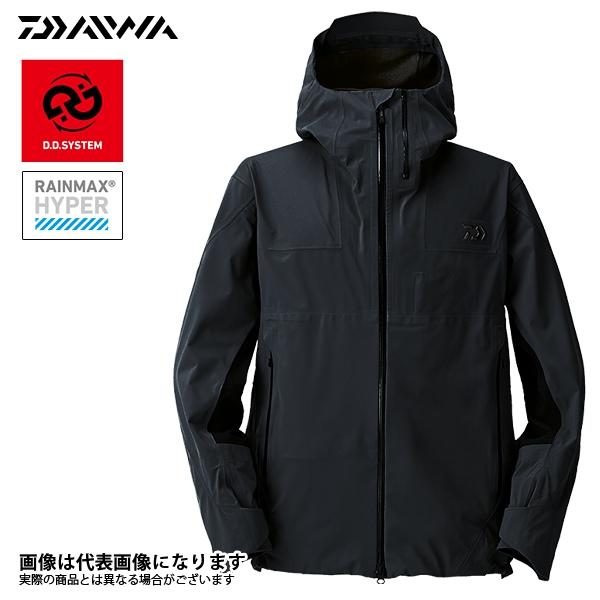DR-20008JB Rマックス ハイパーブラッシュバッカージャケット ブラック 2XL ダイワ 釣り 防寒着 ジャケット 防寒