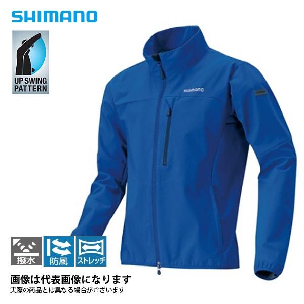 JA-041Q ストレッチ3レイヤージャケット Dネイビー 2XL シマノ 釣り 防寒着 ジャケット 防寒