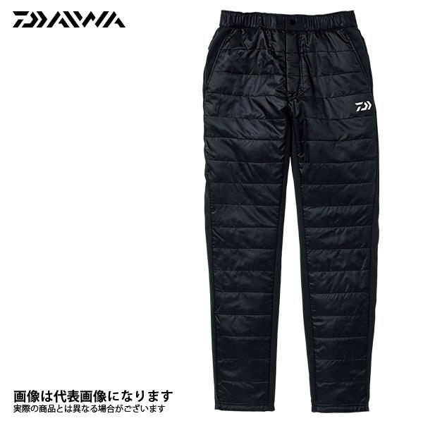 DP-30008 中綿入り ハイブリッドパンツ ブラック XL ダイワ 釣り 防寒着 パンツ 防寒