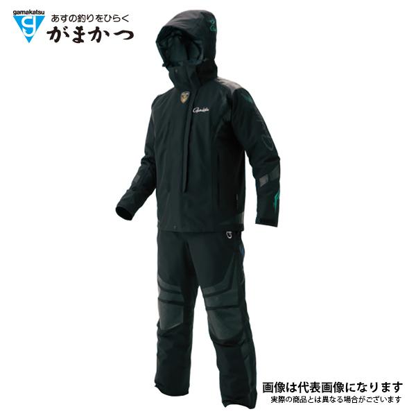 GM3467 ゴアテックスオールウェザースーツ ブラック/シルバー LL