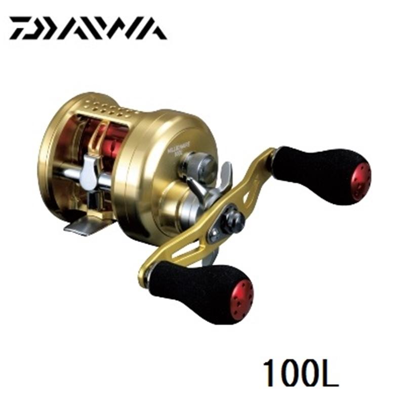 【ダイワ】ミリオネア 100L (左巻き)ダイワ リール DAIWA ダイワ 釣り フィッシング 釣具 釣り用品