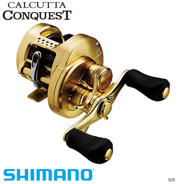 4/9 20時から全商品ポイント最大41倍期間開始*シマノ 14 カルカッタコンクエスト 101 左ハンドル SHIMANO シマノ 釣り フィッシング 釣具 釣り用品
