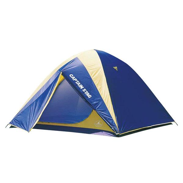 【キャプテンスタッグ】レニアスドームテント 5~6人用 バッグ付 ブルー(M-3106)テント ファミリーテント キャンプ キャプテンスタッグ CAPTAIN STAG キャンプ用品 アウトドア用品
