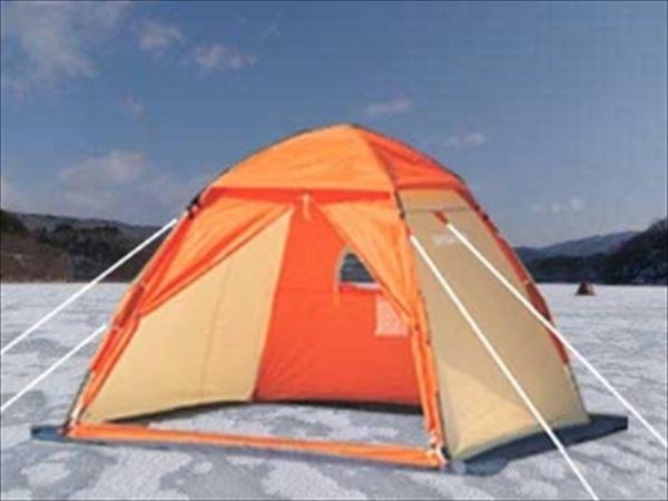 M-3131 ワカサギテント 210 ワンタッチテント オレンジ キャプテンスタッグ ワカサギ テント ワカサギ釣りワカサギ用テント ワカサギ釣り キャプテンスタッグ CAPTAIN STAG キャンプ用品 アウトドア用品