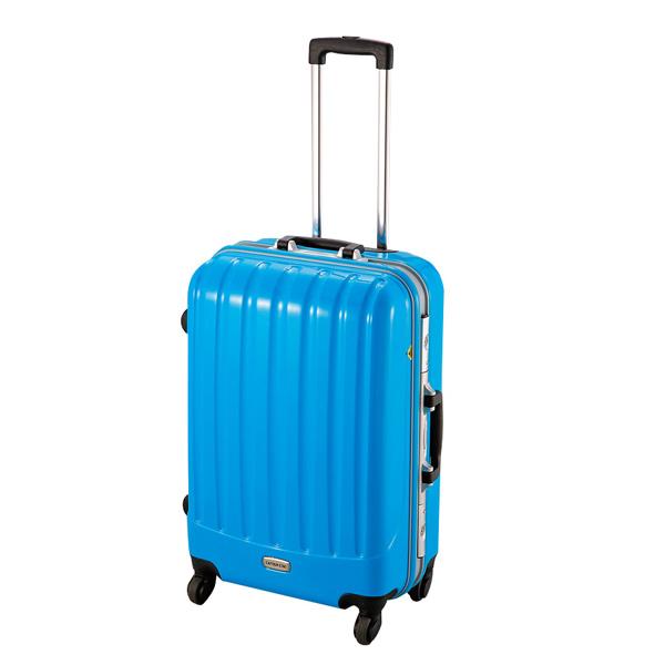 【キャプテンスタッグ】トラベルスーツケース TSAロック付きハードフレームタイプ M ミントグリーン(MT-3560)