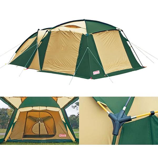 スペシャルセール!*ラウンドスクリーン2ルームハウス [大型便](170T14150J)テント ツールームテント コールマン ツールームテント キャンプ
