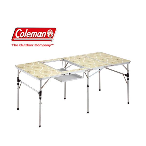 【コールマン】スリム四折BBQテーブル(170-7638)アウトドアテーブル キャンプテーブル テーブル コールマン Coleman キャンプ用品 アウトドア用品
