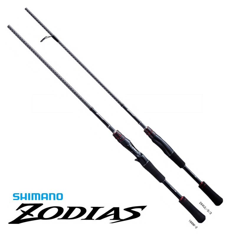 エントリーで全品ポイント+8倍!最大41倍*【シマノ】ゾディアス 166ML-2 [大型便] SHIMANO シマノ 釣り フィッシング 釣具 釣り用品