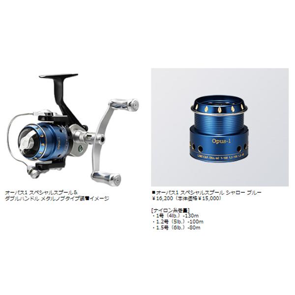【エバーグリーン】オーパス1 スペシャルスプール シャロー ブルー