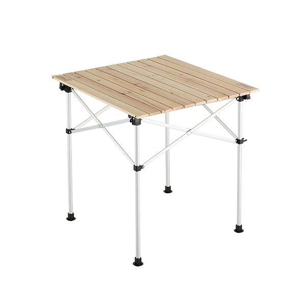 【コールマン】ナチュラルウッドロールテーブル/65(2000023502)アウトドアテーブル キャンプテーブル コールマン テーブル