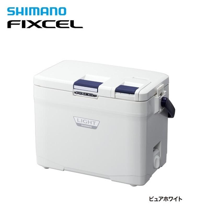 【シマノ】フィクセル ライト120 LF-012N ピュアホワイトクーラーボックス シマノ 小型 12L 釣り フィッシング クーラー クーラー