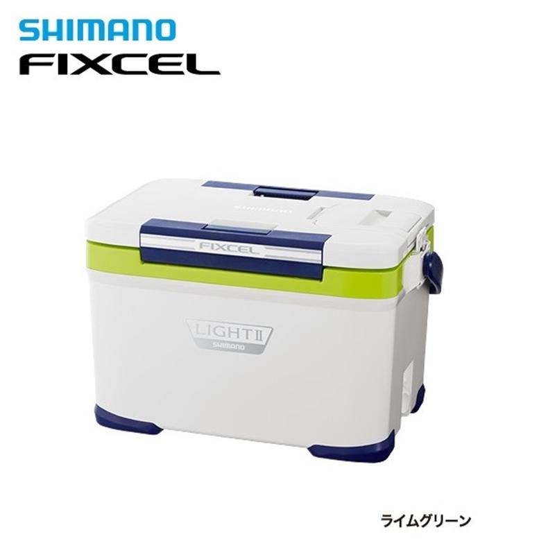 【シマノ】フィクセル ライトII220 LF-222N ライムグリーンクーラーボックス シマノ 22L 釣り フィッシング クーラー クーラー
